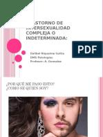 trastorno de intersexualidad compleja o indeterminada