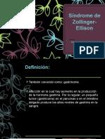 presentacion sindrome de zollinger-ellison