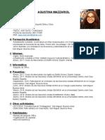 Curriculum Vitae Act. 10 (Mazzariol)