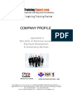 Itrainingexpert Corporate Profile2011