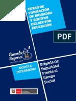 Riesgo Social CURSO DE FORMACIÓN DE BRIGADAS Y EQUIPOS DEL SECTOR EDUCACIÓN