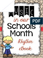 Music in Our Schools Month Rhythm e Book