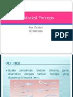 Ekstraksi Forceps