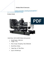 Generator Sincron 3 Phasa 404D-22G Perkins