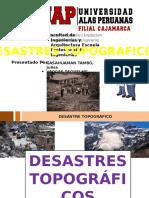 DESASTRES TOPOGRAFICOS