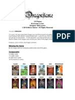 Dragonflame Rules
