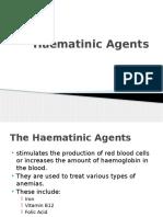 Hematinic Agents