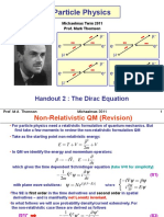 2.Dirac Equation