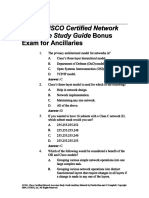 CCNA 2 Bonus Exam2145
