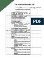 Checklist PAB