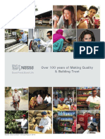Nestle India Annual Report Analysis