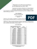 Ley Nº 2071 Ley Tarifaria Provincial