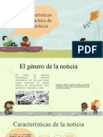 Texto no literario, la noticia