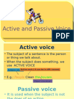 Active and Passive Voice, Carlos Cabrera