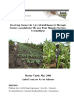 Involving Farmers in Agricultural Research Through Farmer Associations