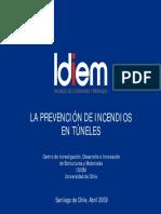 La Prevencion de Incendios en Tuneles