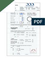 Piles DTL3 - Structure Design Calc