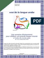 Fete de La Langue Arabe 2016