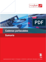Cadenas Porta Cables