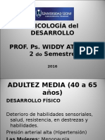 Adultez Media (40 a 65 Años)