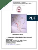 Sudamerica Cenozoico