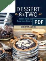 Dessert for Two Christina Lane PDF