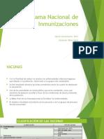Programa Nacional de Inmunizaciones