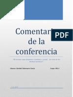 Comentario de La Conferencia