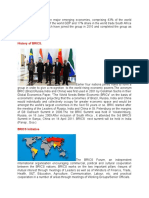 BRICS is a Group of Five Major Emerging Economies
