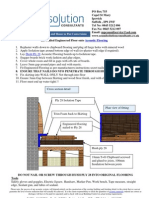 Acoustic Floor Treatment for Nailed Wood Floor