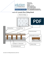 Approved Document e Micro 21 With Resilient Bar Ceiling
