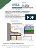 General Engineered Flooring Acoustic Treatment