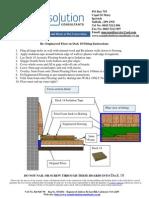 General Engineered Flooring Plank Deck 18