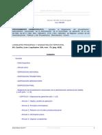 Decreto 189-94, Procedimiento Sancionador Autonomico