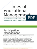 2 participatory models of organisational  2