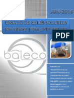Sales Solubles