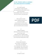 Analisis Del Poema Carta a Lizardo