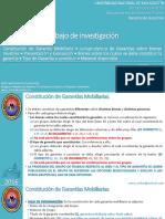 Derecho de Garantías - Trabajo de Investigación