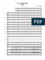 1812 Overture 1880 - Full Score