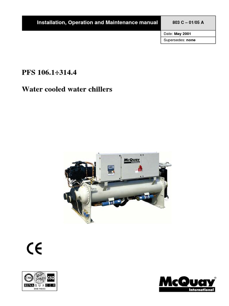 Mcquay pfs c installation manual eng valve gas compressor asfbconference2016 Images