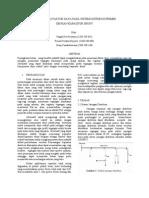 Memperbaiki Faktor Daya Pada Sistem Distribusi Primer