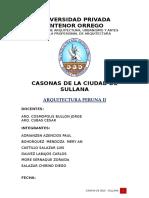 Monografia Casona de Sojo.