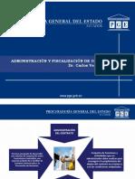 Administracion y Fiscalizacin Del Contrato Dr. Carlos Venegas