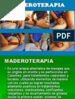 Masaje Maderoterapia