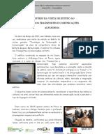 Relatório da visita ao Porto
