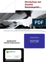 Hands-on Solutions - Workshop em Gestão Empresarial - Apresentação Direcionada Publico