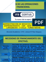 Gestion de Las Operaciones Financieras