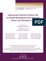 Laparoscopic Suturing Practical Tips
