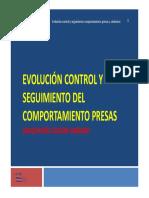 Evolucion Control Seguimiento Comportamiento Presas