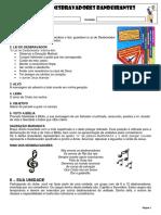 Informações Básicas CD Bandeirantes 2016